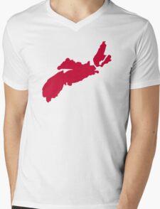 Canada Nova Scotia Mens V-Neck T-Shirt