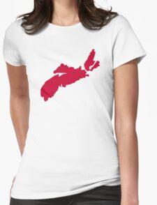 Canada Nova Scotia Womens Fitted T-Shirt
