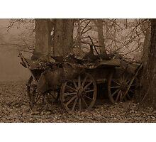 Wagon 2 Photographic Print