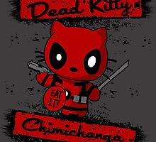 Dead Pool Hello Kitty by dontpanictees