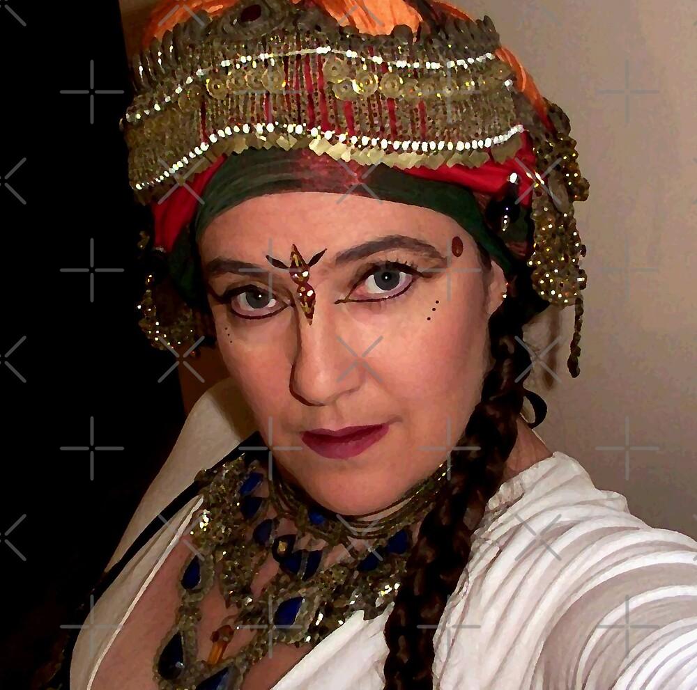Portrait - Tribal Dancer  by Sandra Chung