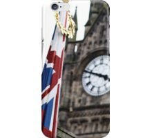 Flying the flag iPhone Case/Skin