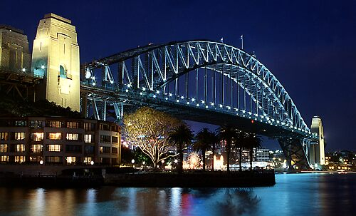 Sydney Harbour Bridge by ottz0