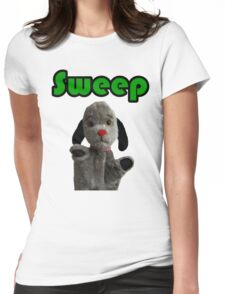 Sweep Womens Fitted T-Shirt