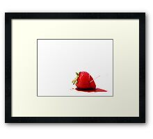 Blood Berry Framed Print