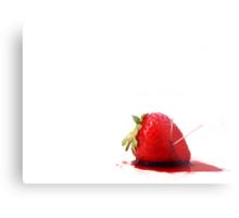 Blood Berry Metal Print