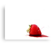 Blood Berry Canvas Print