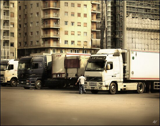 Naples Trucks by Paul Vanzella