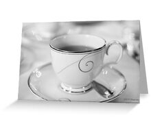 Lapsang Souchong Tea Greeting Card