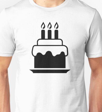 Cake candles Unisex T-Shirt