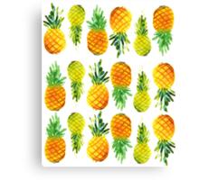 Pineapple Passion Canvas Print