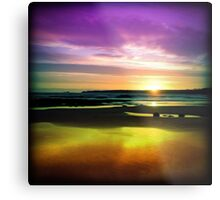 Colourful Reflection Metal Print