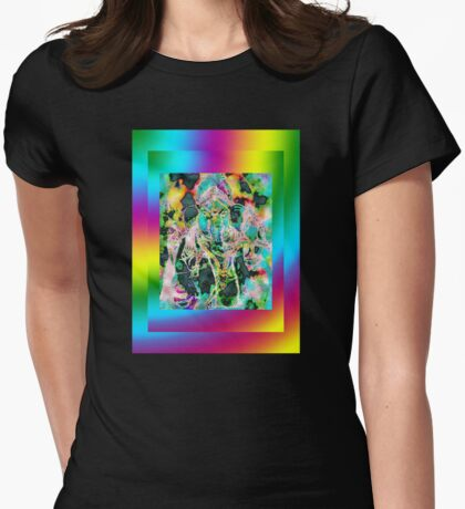 Ganesh 2 Womens Fitted T-Shirt
