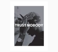 "Tupac ""Trust Nobody"" Tumblr  T-Shirt"