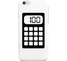 Calculator iPhone Case/Skin