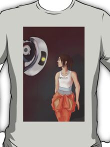 Chell and Glados T-Shirt