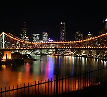 Story Bridge Brisbane by gpinniger