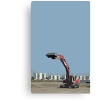 buldozer Canvas Print