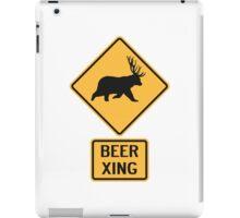 Bear Deer Beer Crossing iPad Case/Skin
