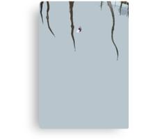 kid under the spider Canvas Print