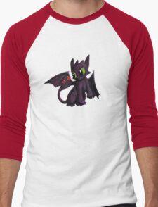 Lil Toothless Men's Baseball ¾ T-Shirt