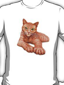 Orange Tabby T-Shirt