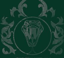 Slytherin Crest by eegamluap