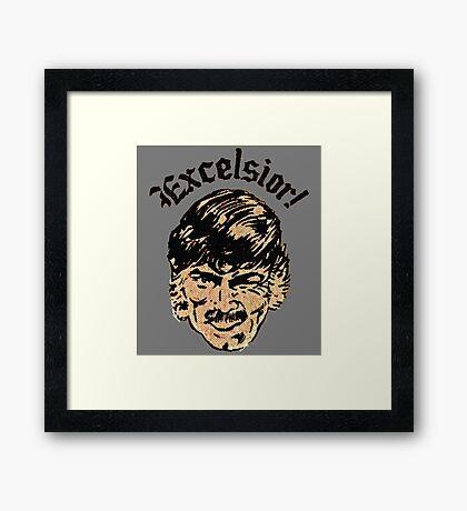 Excelsior! Framed Print