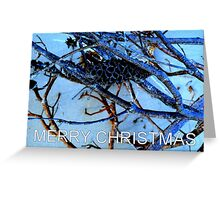 Blue Banksia Greeting Card