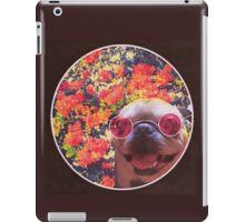 Happy Yin and Yang Pug  iPad Case/Skin