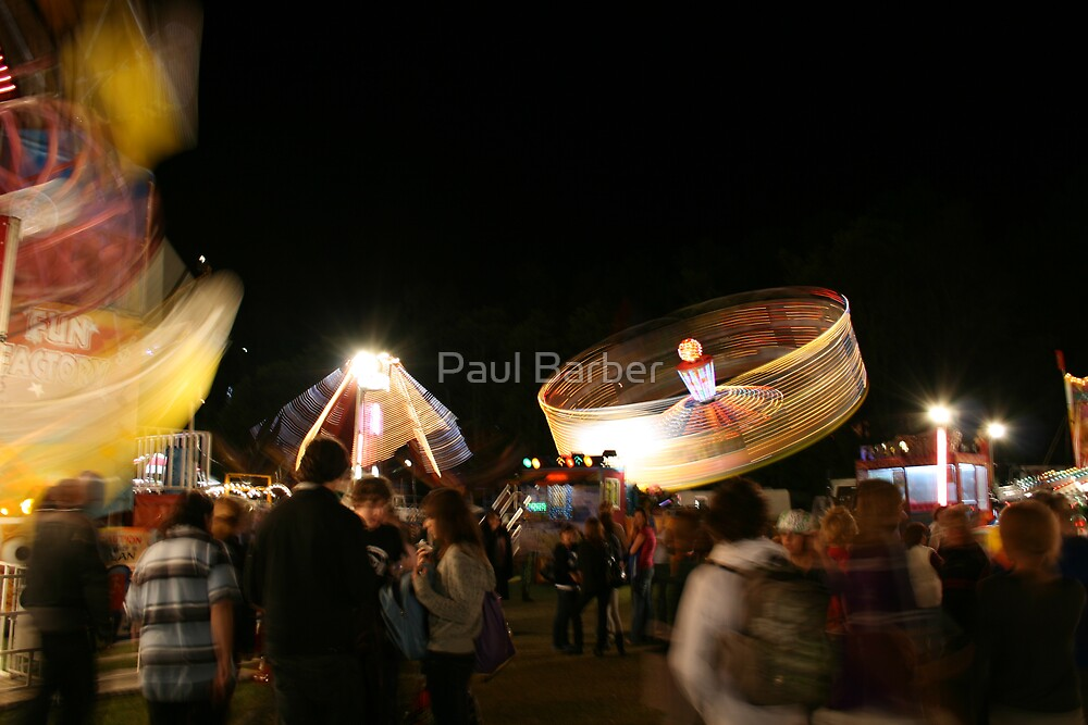 The Show comes to Town! by Paul Barber