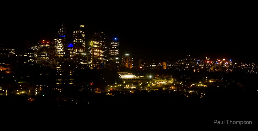 Sydney Skyline by Paul Thompson