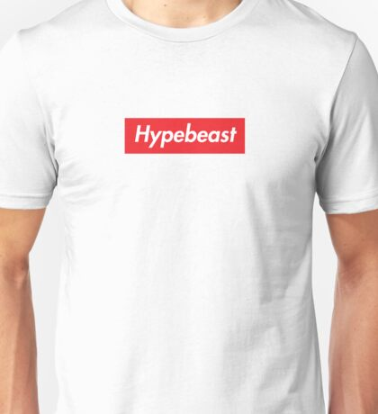 Hypebeast Supreme HD Sneakerhead Yeezy Colorway Logo Unisex T-Shirt