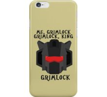 Me, Grimlock iPhone Case/Skin