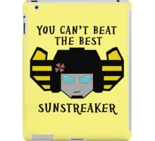 Beat the Best - Sunstreaker iPad Case/Skin