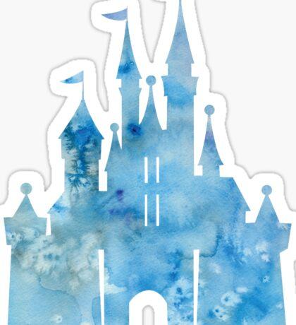 Blue Wishes Sticker