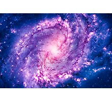 Cosmic vacuum cleaner (Spiral Galaxy M83) Photographic Print
