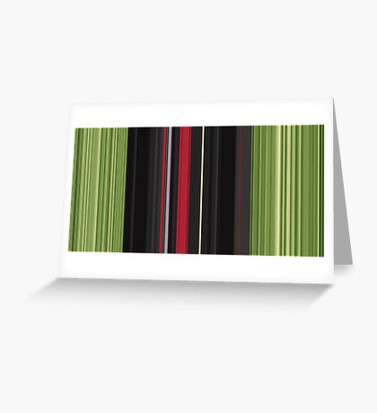 Red Green Greeting Card