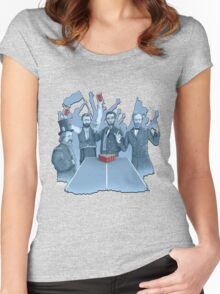 History in the making Women's Fitted Scoop T-Shirt