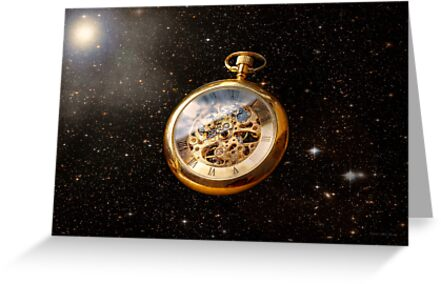 Clockmaker - Space time by Mike  Savad