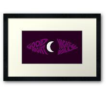 Goodnight Night Vale Framed Print