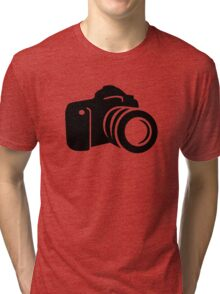Photo reflex camera Tri-blend T-Shirt