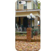 Autumn Yard iPhone Case/Skin