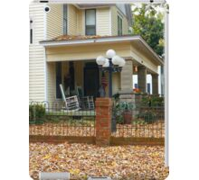 Autumn Yard iPad Case/Skin