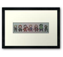 Biddy Avengers. Framed Print