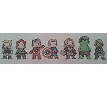 Biddy Avengers. Photographic Print