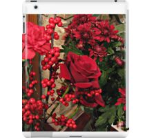 Scarlet Sensation - Winter Flowers and Berries iPad Case/Skin