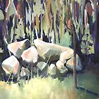 Landscape study 2 by Lyn Fabian