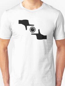 Hands camera Unisex T-Shirt