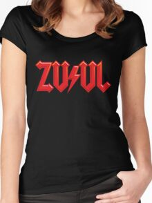 There is no Angus, only Zuul Women's Fitted Scoop T-Shirt